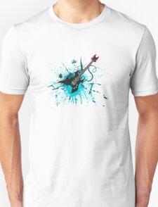 Graffiti Guitar T-Shirt
