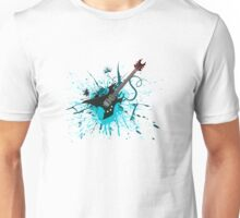 Graffiti Guitar Unisex T-Shirt