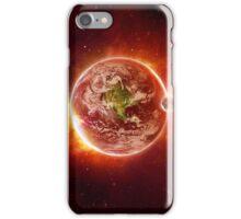 Red Galaxy Case iPhone Case/Skin