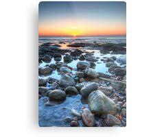 Sunrise over Winchelsea Beach Metal Print