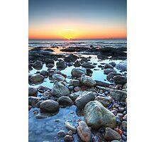 Sunrise over Winchelsea Beach Photographic Print
