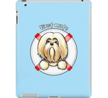 Lhasa Apso :: First Mate iPad Case/Skin