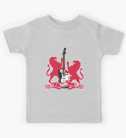 British Rock Guitar Kids Tee