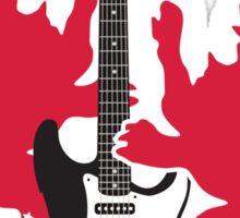 British Rock Guitar Sticker
