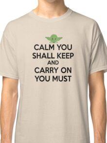 YODA - STAR WARS - KEEP CALM Classic T-Shirt