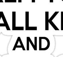 YODA - STAR WARS - KEEP CALM Sticker