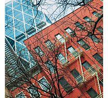Building Diagonals Photographic Print