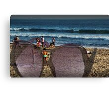 A great day at Stinson Beach Canvas Print