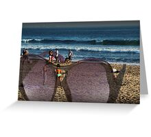 A great day at Stinson Beach Greeting Card