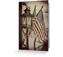 Vintage Americana Greeting Card