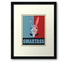 Louise - Smart Ass Framed Print