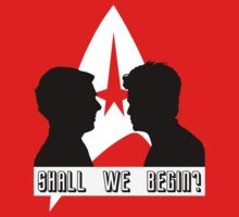 Shall we begin? Kirk/John Harrison Edition Baby Tee