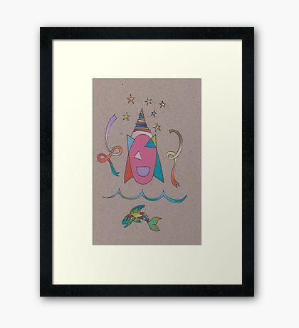 Ribbon Dancers Framed Print