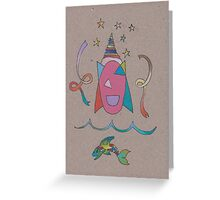 Ribbon Dancers Greeting Card