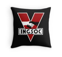 INGSOC 1984 Throw Pillow