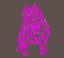 American Bully Dog Womens Fitted T-Shirt