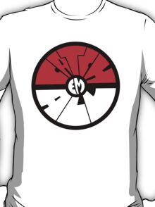 Catch 'em all - Pokeball T-Shirt