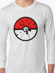 Catch 'em all - Pokeball Long Sleeve T-Shirt