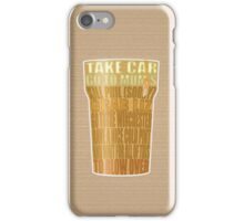 Winchester Pint - (Shaun of the Dead) iPhone Case/Skin