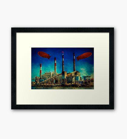 Gotham City Power Framed Print