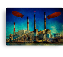 Gotham City Power Canvas Print
