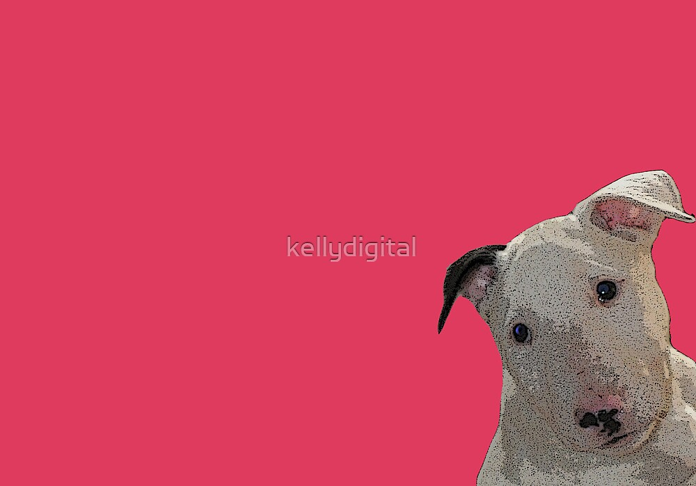 pop art puppy by kellydigital