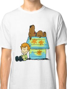 Scooby Doo Peanuts Classic T-Shirt
