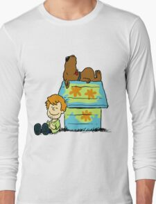 Scooby Doo Peanuts Long Sleeve T-Shirt