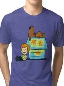 Scooby Doo Peanuts Tri-blend T-Shirt