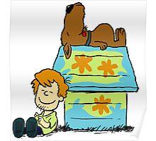 Scooby Doo Peanuts Poster