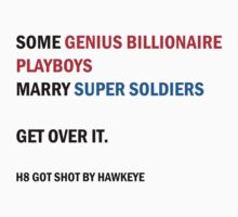 SOME GENIUS BILLIONAIRE PLAYBOYS  MARRY SUPER SOLDIERS (new version) by samfulism