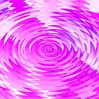 pink ripples - by Tessa by Janine Paris