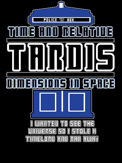 """The Tardis who stole a Timelord"" by Ameda Nowlin"