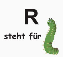 R steht für ... One Piece - Short Sleeve