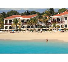 Meads Bay Beach, Anguilla Photographic Print
