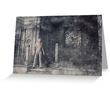 The Caretaker - A Final Resting Place Greeting Card