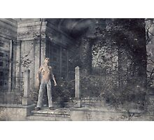 The Caretaker - A Final Resting Place Photographic Print
