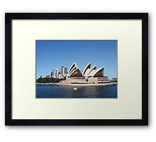 The Sydney Opera House Framed Print