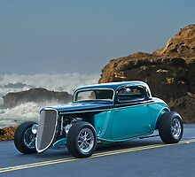 1934 Ford Coupe Pacific Coast Cruz'n 2 by DaveKoontz