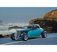 1934 Ford Coupe Pacific Coast Cruz'n 2 Photographic Print