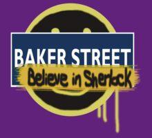 Believe in Sherlock London Underground by brookenado