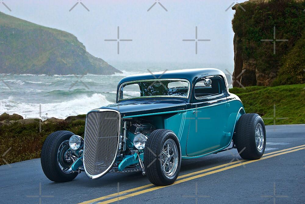 1934 Ford Coupe Pacific Coast Cruz'n 1 by DaveKoontz
