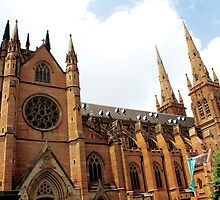 Saint Mary's Cathedral in Sydney by happychachi