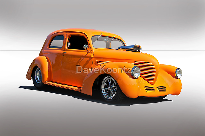 1938 Willys Sedan - Studio by DaveKoontz