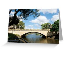 Parramatta River Greeting Card