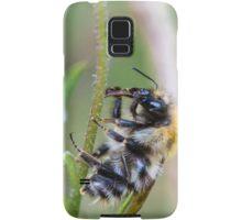 Bee on stalk Samsung Galaxy Case/Skin