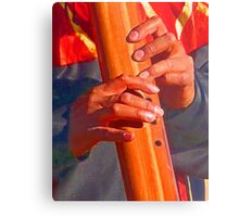 Flauta Transversa Metal Print