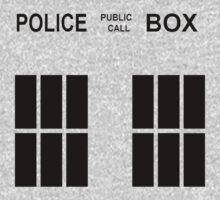 TARDIS Police Box Kids Clothes