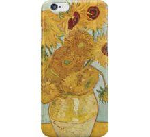 Sunflowers - Van Gogh iPhone Case/Skin
