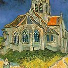 The Church at Auvers-sur-Oise by Van Gogh by skyeaerrow